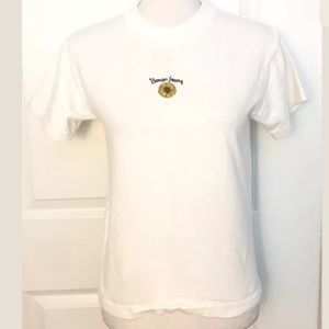 Bongo By Gene Montesano Embroidered Sunflower Tee